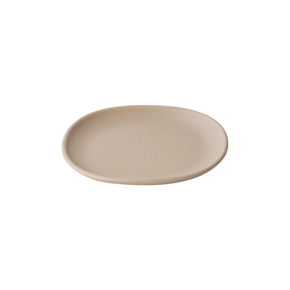 KINTO NEST SQUARE PLATE 210MM  PINK BEIGE