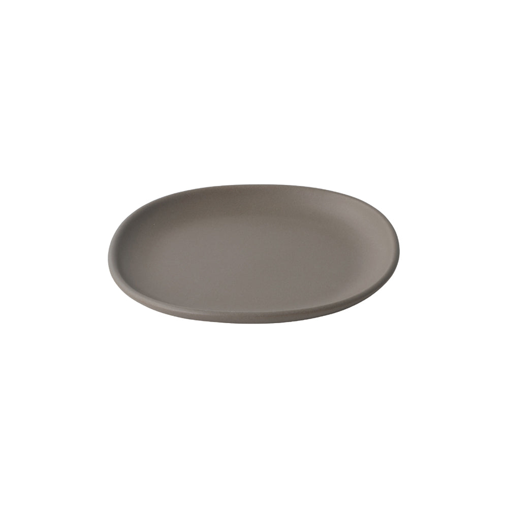 KINTO NEST SQUARE PLATE 210MM  BROWN
