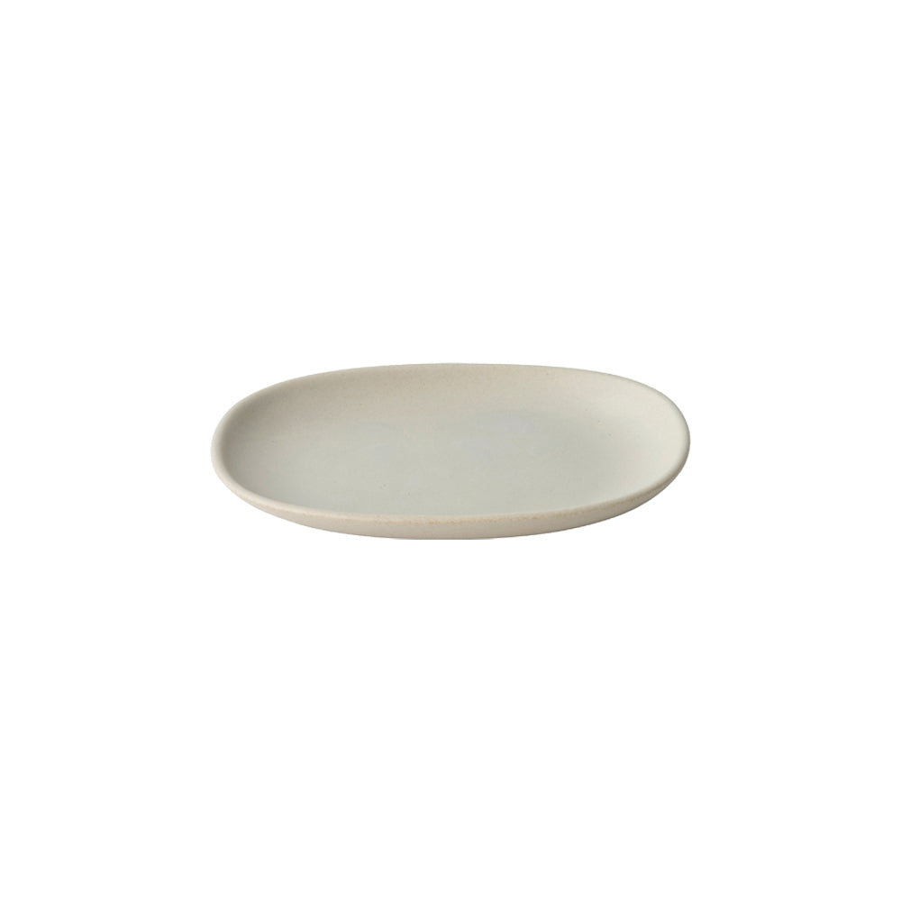 KINTO NEST RECTANGLE PLATE 195MM  LIGHT GRAY