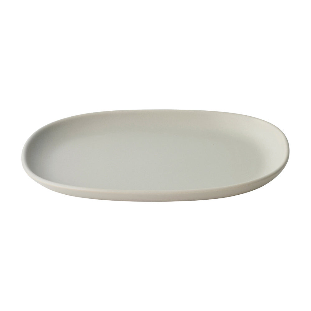 KINTO NEST RECTANGLE PLATE 315MM  LIGHT GRAY