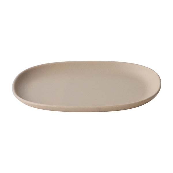 KINTO NEST RECTANGLE PLATE 315MM PINK BEIGE