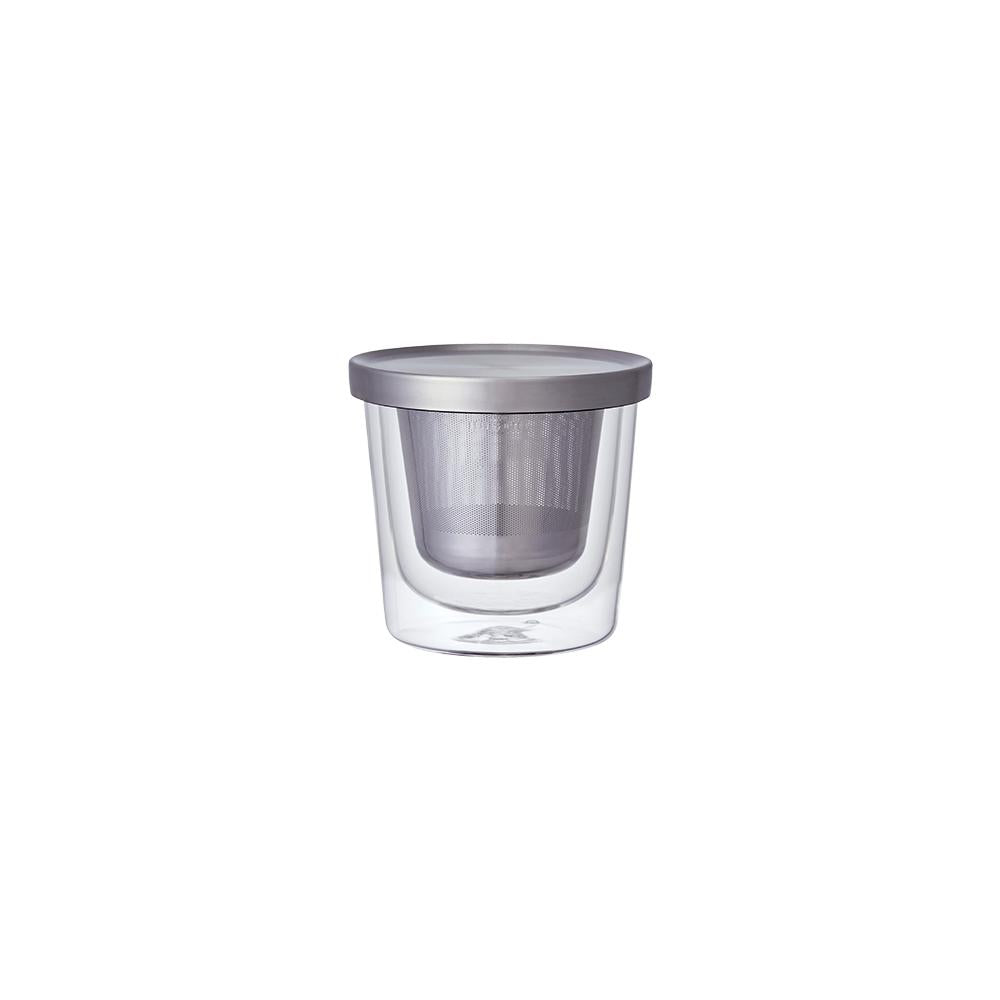 KINTO LT CUP WITH STRAINER 260ML  CLEAR