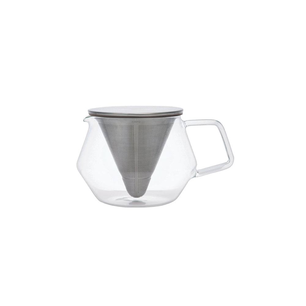 KINTO CARAT TEAPOT 600ML  GRAY-NO-COLOR