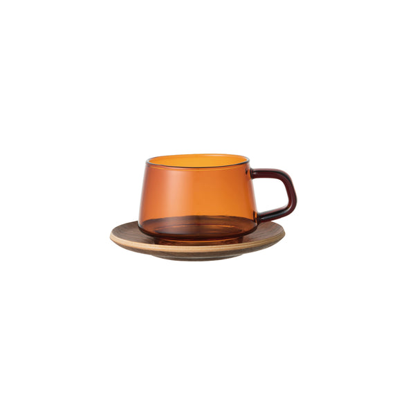 SEPIA cup & saucer 270ml - KINTO Europe