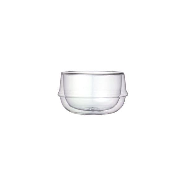 KINTO KRONOS DOUBLE WALL SOUP BOWL CLEAR