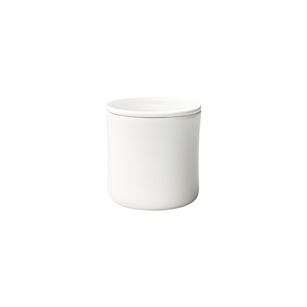 KINTO SCS COFFEE CANISTER  WHITE
