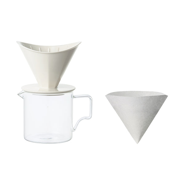 OCT brewer jug set 2cups - KINTO Europe