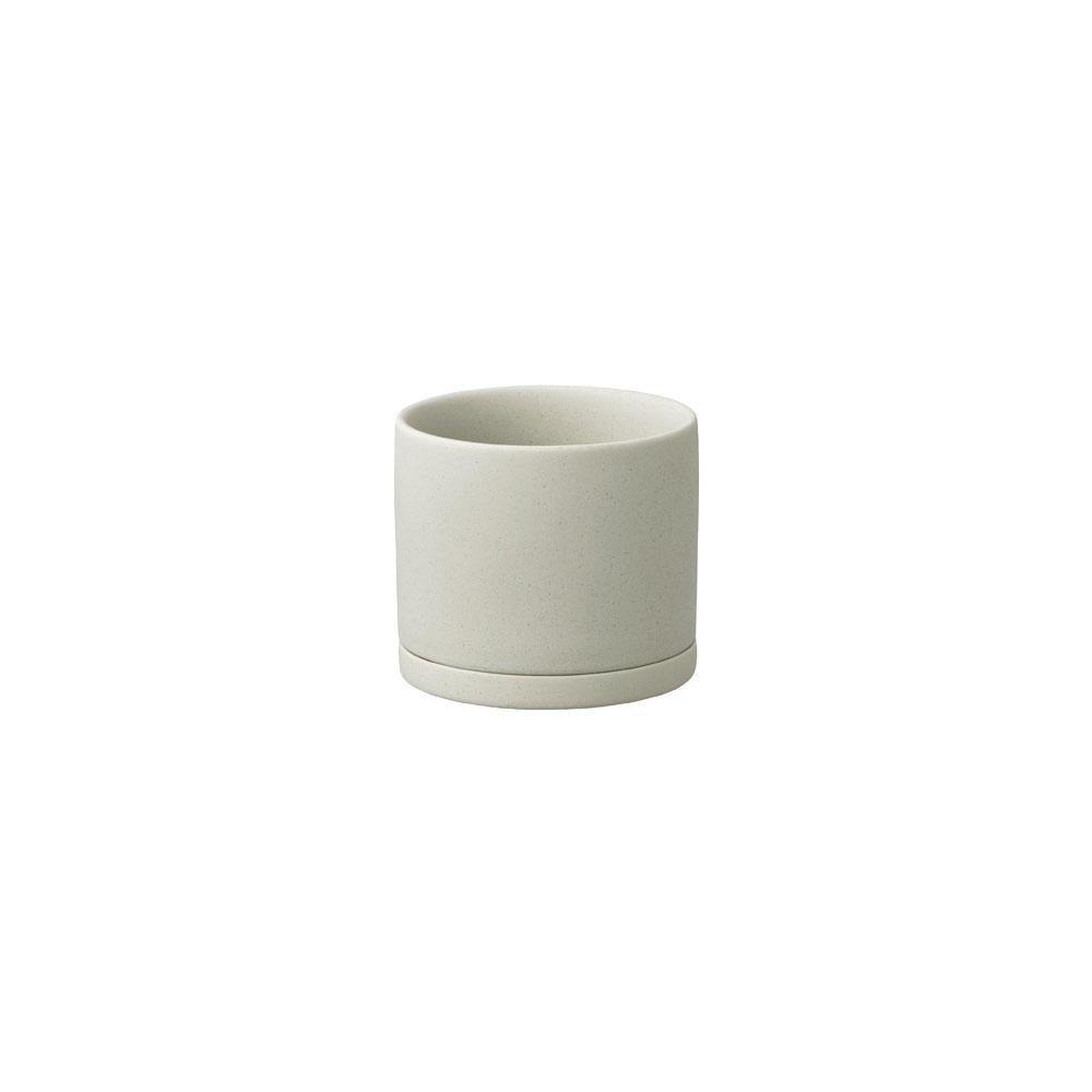 KINTO PLANT POT 191_ 85MM  EARTH GRAY