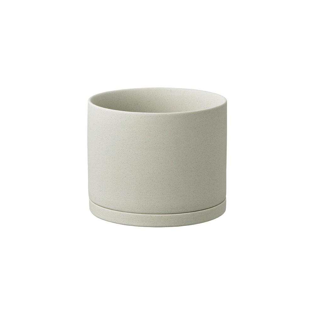 KINTO PLANT POT 191_ 135MM  EARTH GRAY