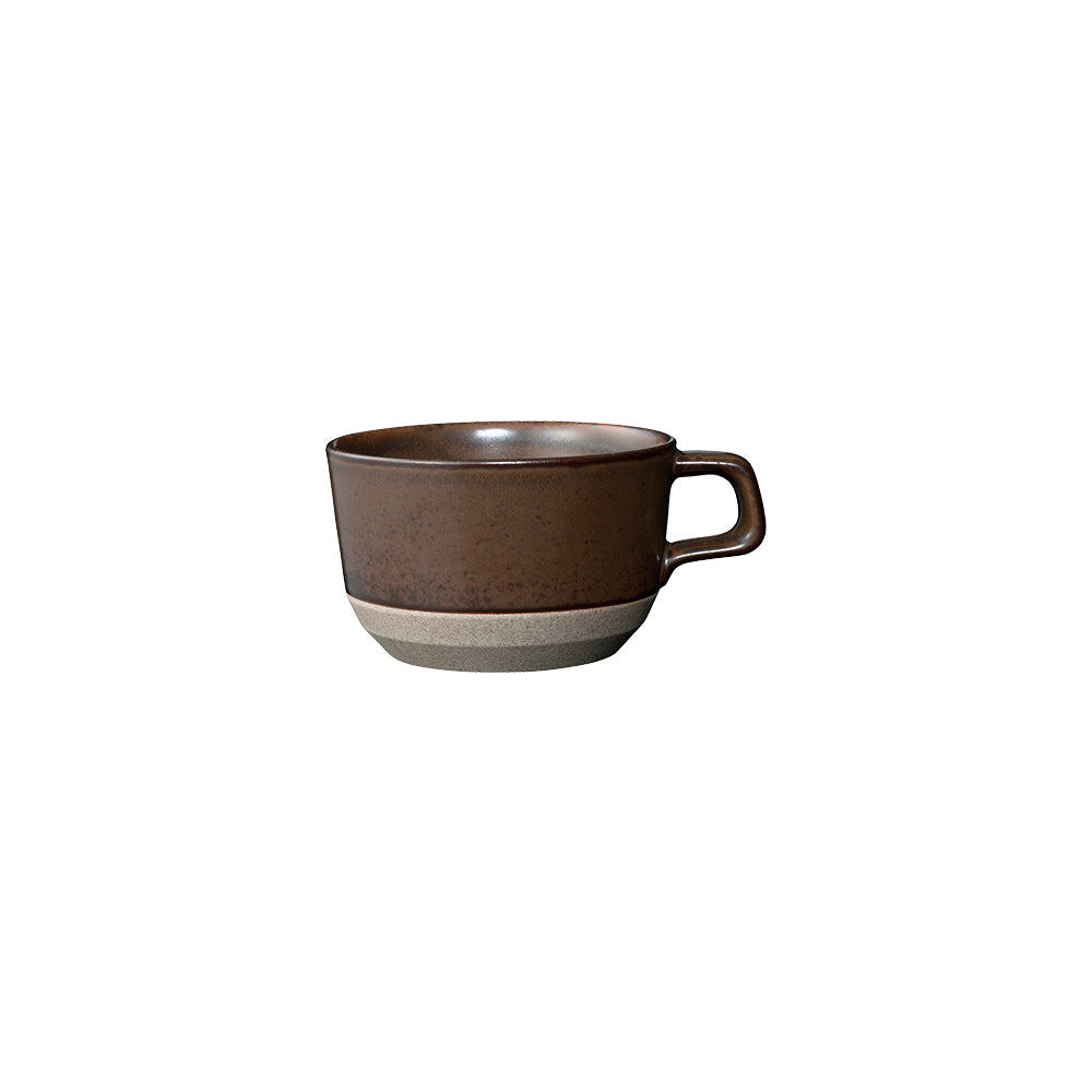KINTO CLK-151 WIDE MUG 400ML BROWN THUMBNAIL 8