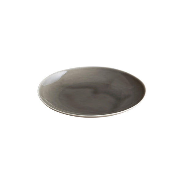 KINTO ATELIER TETE PLATE 180MM LIGHT GRAY