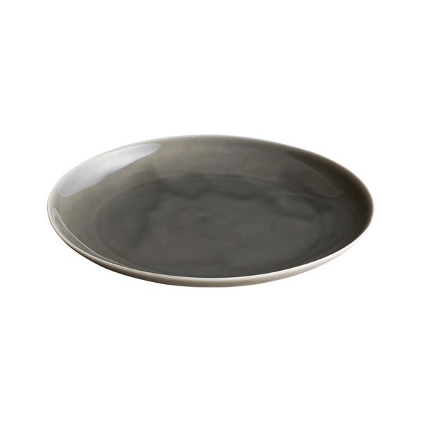 KINTO ATELIER TETE PLATE 235MM LIGHT GRAY