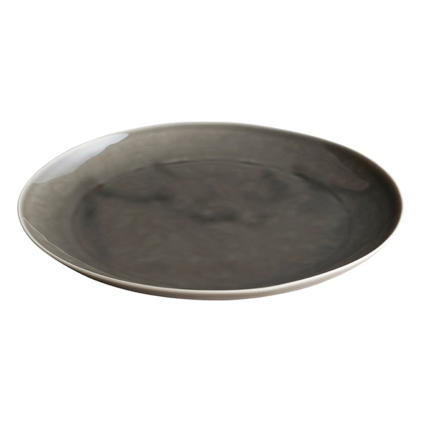 KINTO ATELIER TETE PLATE 280MM LIGHT GRAY