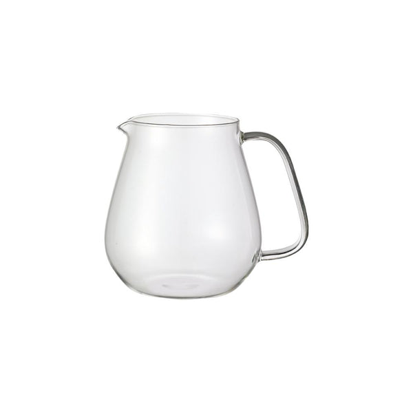 KINTO UNITEA ONE TOUCH TEAPOT GLASS JUG 720ML CLEAR