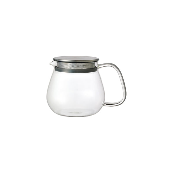 KINTO UNITEA ONE TOUCH TEAPOT 460ML GRAY-NO-COLOR