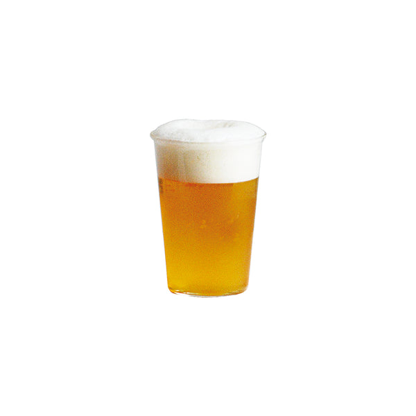 KINTO CAST BEER GLASS CLEAR
