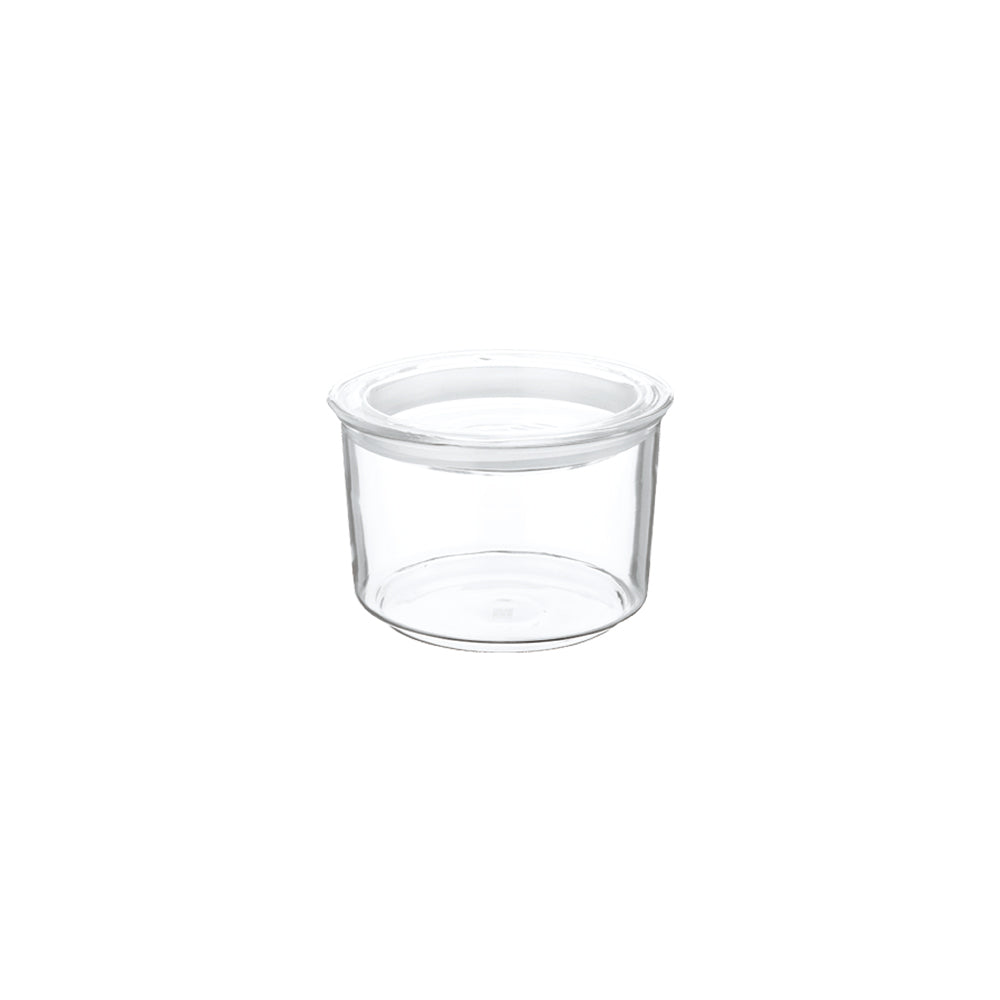KINTO CAST Φ105 GLASS LID CANISTER SHORT  CLEAR