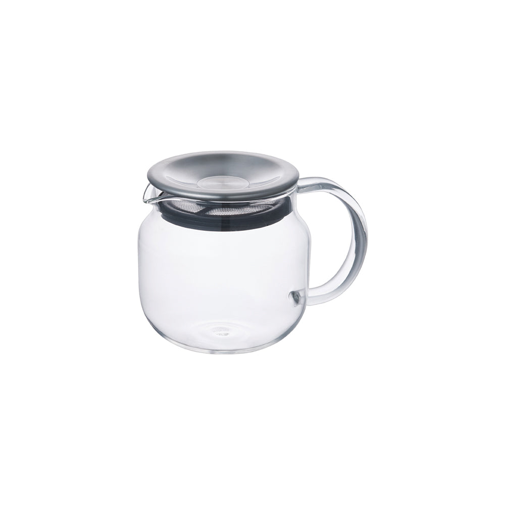 KINTO ONE TOUCH TEAPOT 450ML  STAINLESS STEEL