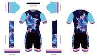 COLOR EXPLOSION 2021 - Short Sleeved Tri Suit