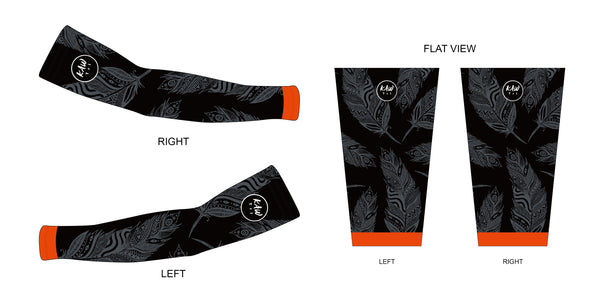 FIRE FEATHER  2021 - Arm Warmers