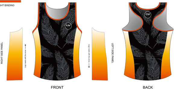 FIRE FEATHER  2021 - Tri Singlet