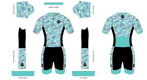 WAVE COLLECTION 2021 - Short Sleeved Tri Suit