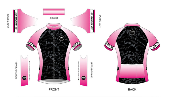 Cycling Jersey - Stand Proud Be Loud Pink - KAWtri Boutique