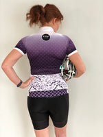 Diamond Collection - Cycling Jersey - Purple