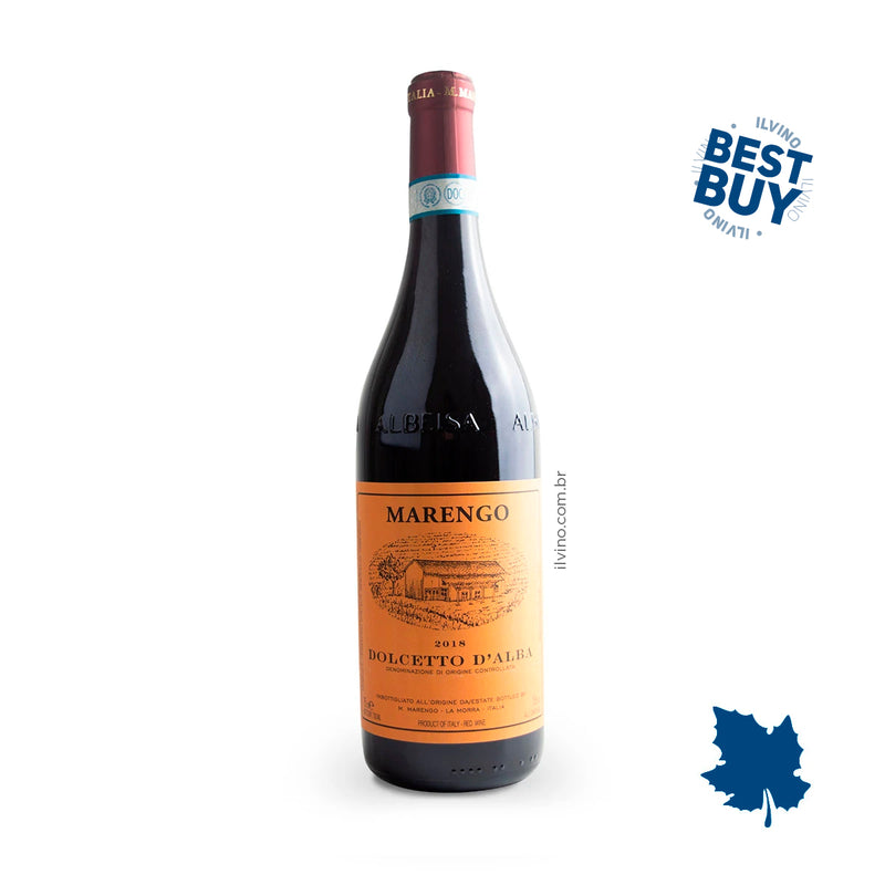 M. Marengo Dolcetto d Alba DOC 2018 750ml