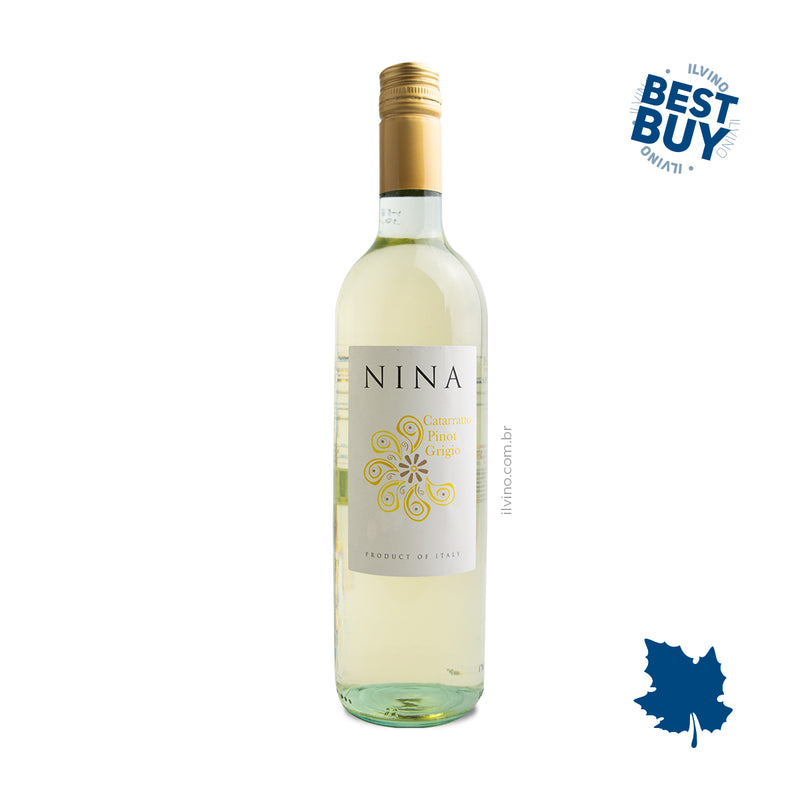 Nina Catarratto Pinot Grigio IGT 2018 750ml