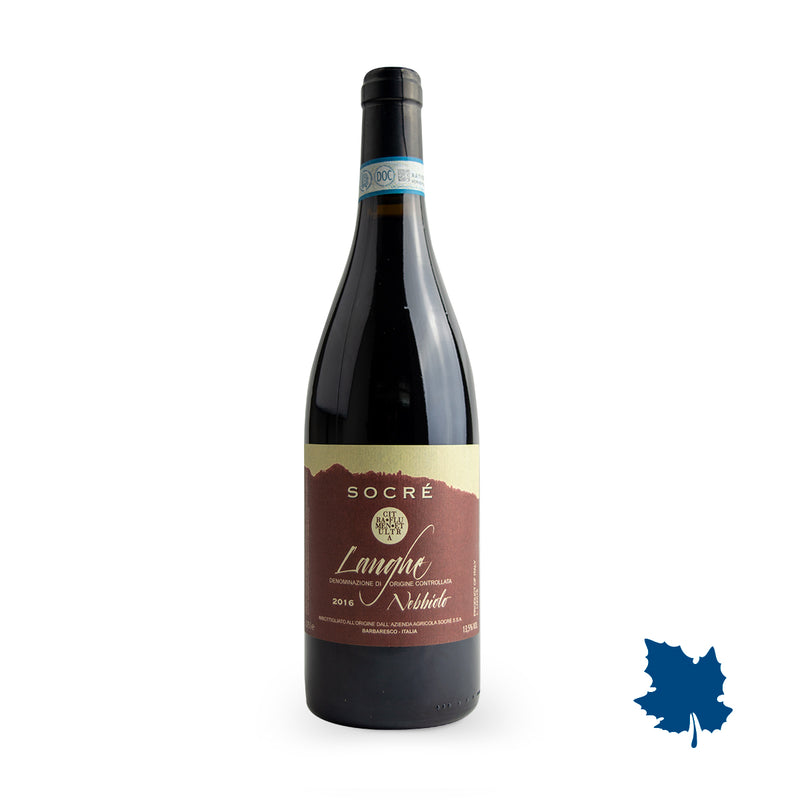 Socre Langhe Nebbiolo DOC 2016 750ml