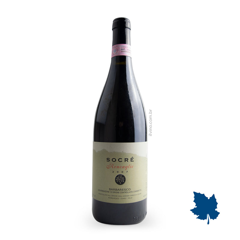 Socré Barbaresco Roncaglie DOCG 2007 750ml