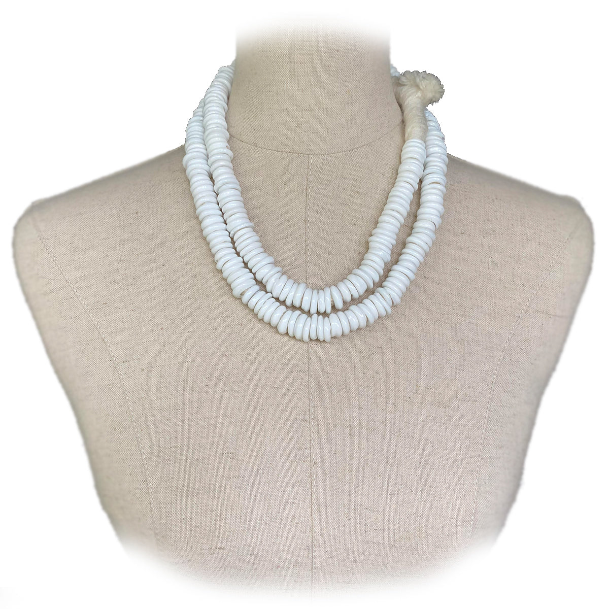 African Trade Beads (White)