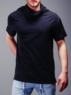 Super Longline T-shirt Turtleneck 4347