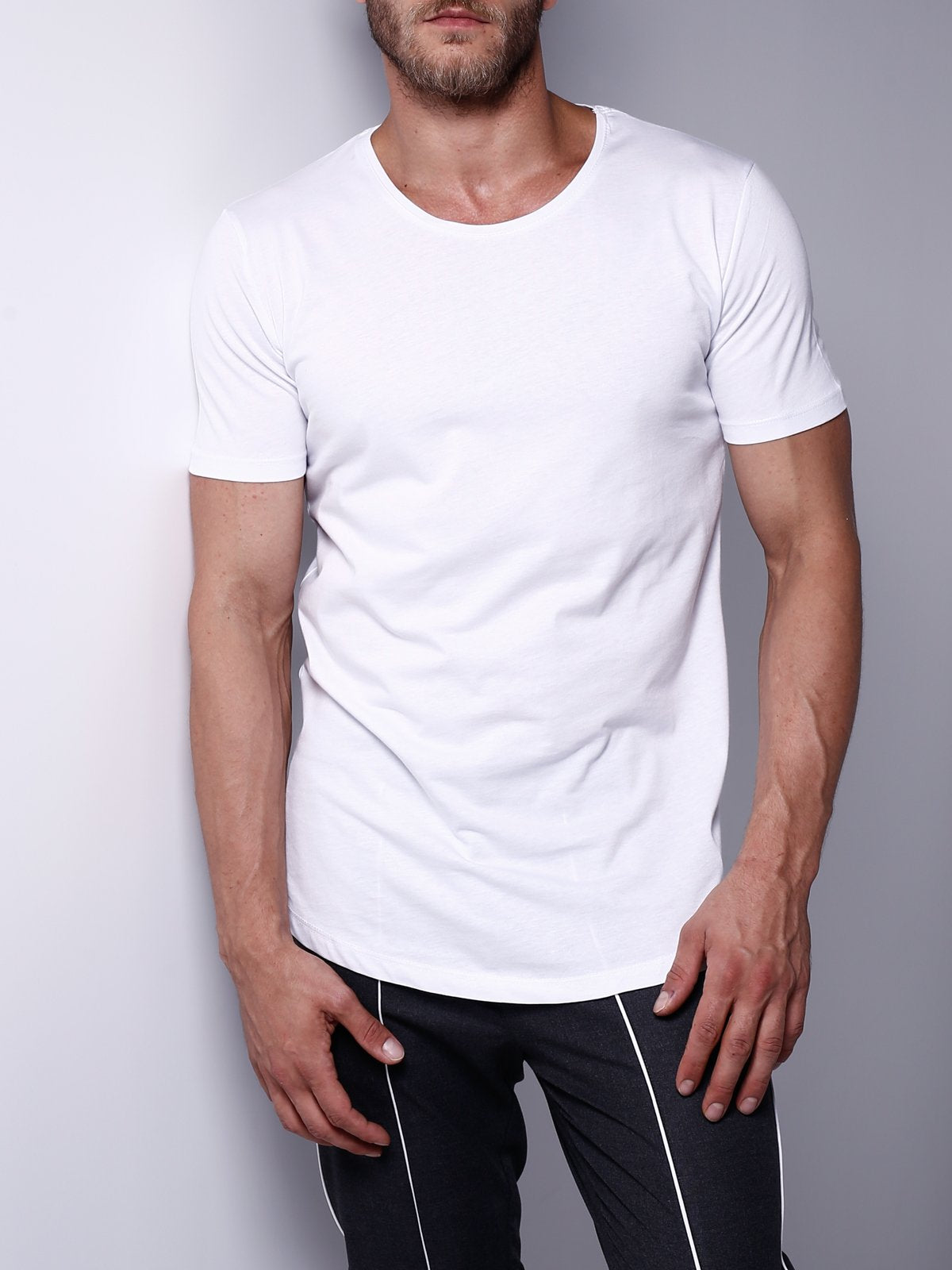 Basic T-Shirt Crew Neck 4523