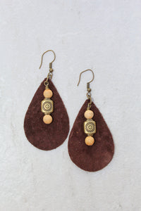 Palo Santo Drop Earrings