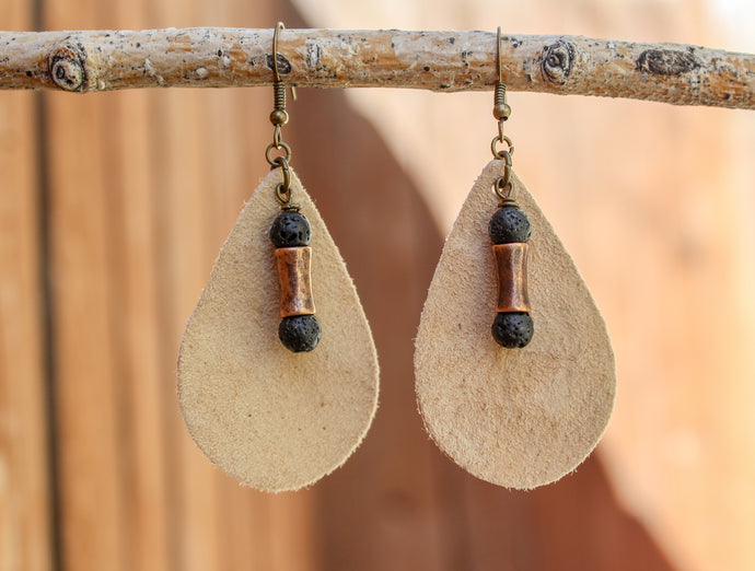 Lava Drop Earrings