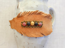 Load image into Gallery viewer, Feathered Leather Bracelet