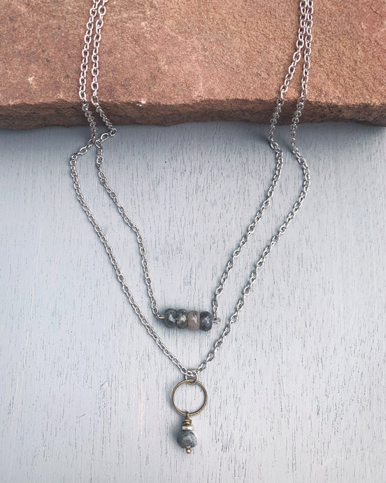 Love with Labradorite Necklace