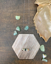 Load image into Gallery viewer, Amazonite Bar Necklace