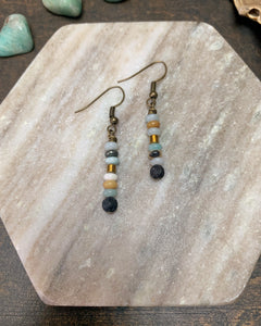 Amazonite Waters Earrings