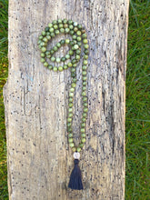 Load image into Gallery viewer, Green Howlite Mala