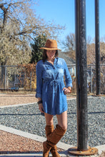 Load image into Gallery viewer, Tarryall Denim Dress
