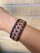 Load image into Gallery viewer, Two Tone Woven Cuff