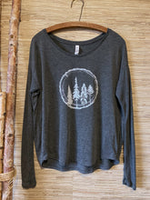 Load image into Gallery viewer, Flowy Long Sleeve T Shirt
