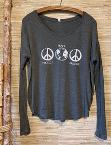 Flowy Long Sleeve T Shirt