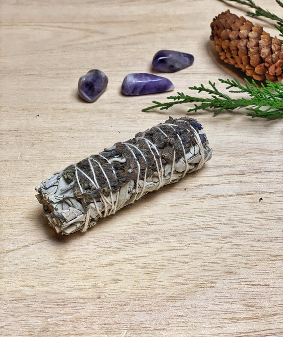 Lavender White Sage Bundle