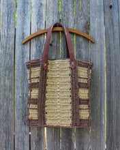 Load image into Gallery viewer, Handwoven Straw Market Tote