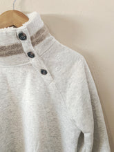 Load image into Gallery viewer, Fleece Button Neck Pullover