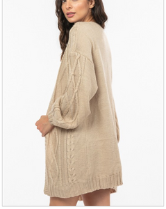 Florence Cable Knit Cardigan